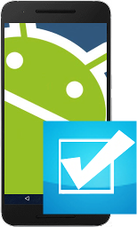 test an android phone or tablet