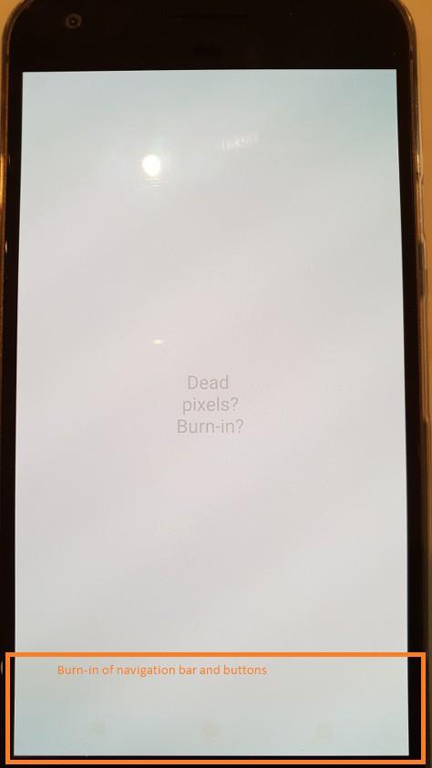 Screen repair - test the screen